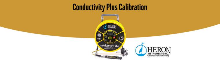 Leitfähigkeitsmessgerät Cplus von Heron Instruments kalibrieren