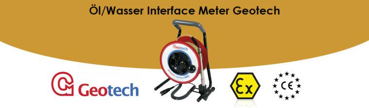 Öl/Wasser Interface Meter Geotech
