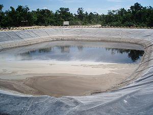 Deponie Sickerwasser