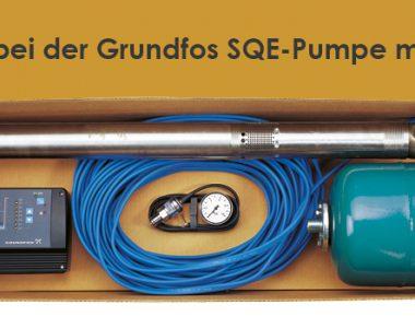 Fehlerbehebung bei der Grundfos SQE-Pumpe
