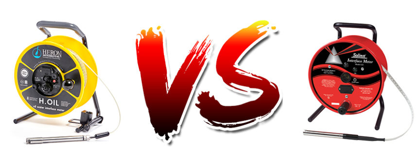 Heron H.OIL VS Solinst M122