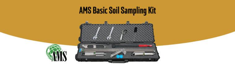 Kit d'échantillonnage de sol AMS Basic