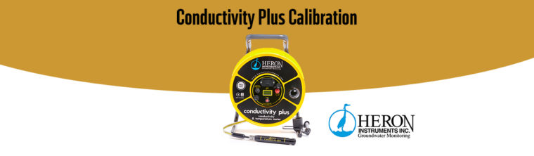 calibrer Heron Instruments Conductivity Plus
