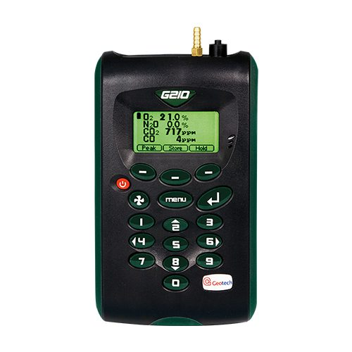 Portable 4-Gas Analyser Geotech G210
