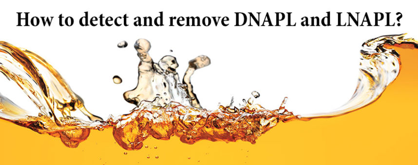 DNAPL and LNAPL
