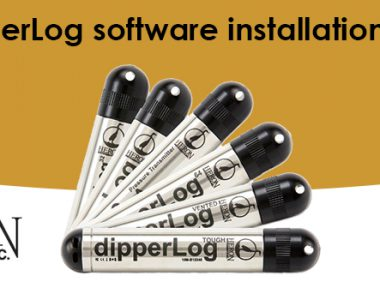 Heron dipperLog software installation and setup